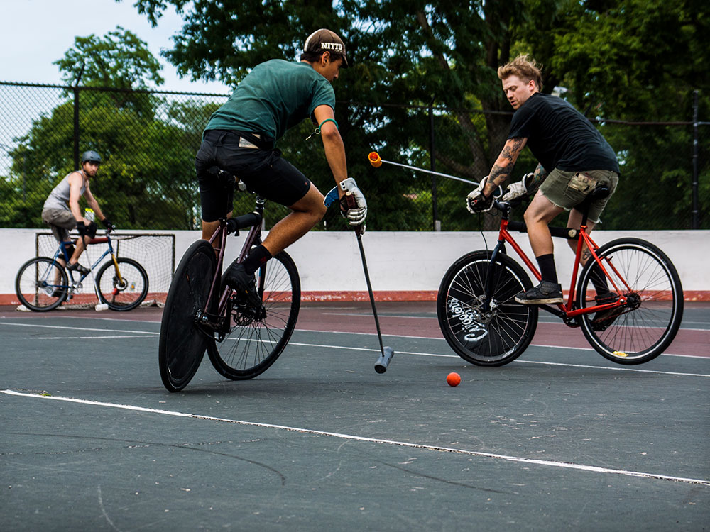 Bike polo, cycling sport